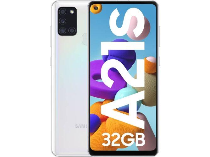 Samsung Smartphone SAMSUNG Galaxy A21s (6.55   - 3 GB - 32 GB - Blanco)