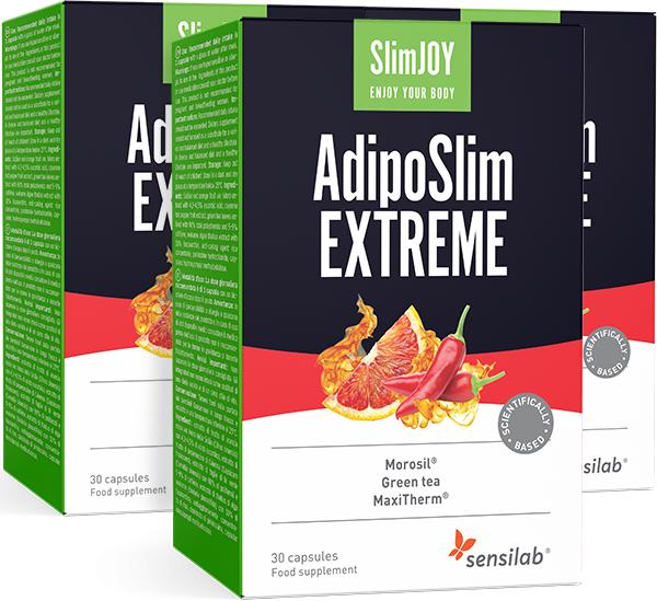 Sensilab SlimJOY AdipoSlim Extreme   1+2 GRATIS   Nueva formula más potente   Para quitar barriga de modo eficaz   Programa de 3 meses   Sensilab