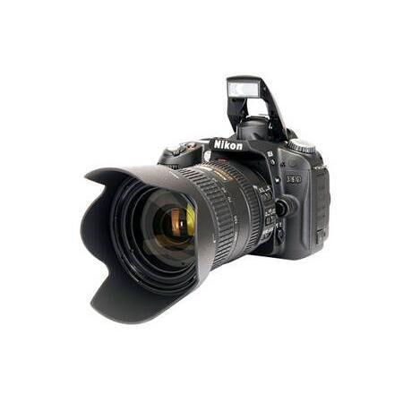Nikon Reflex Nikon D90 Negro + Lente Nikon AF-S DX VR 18 200 mm