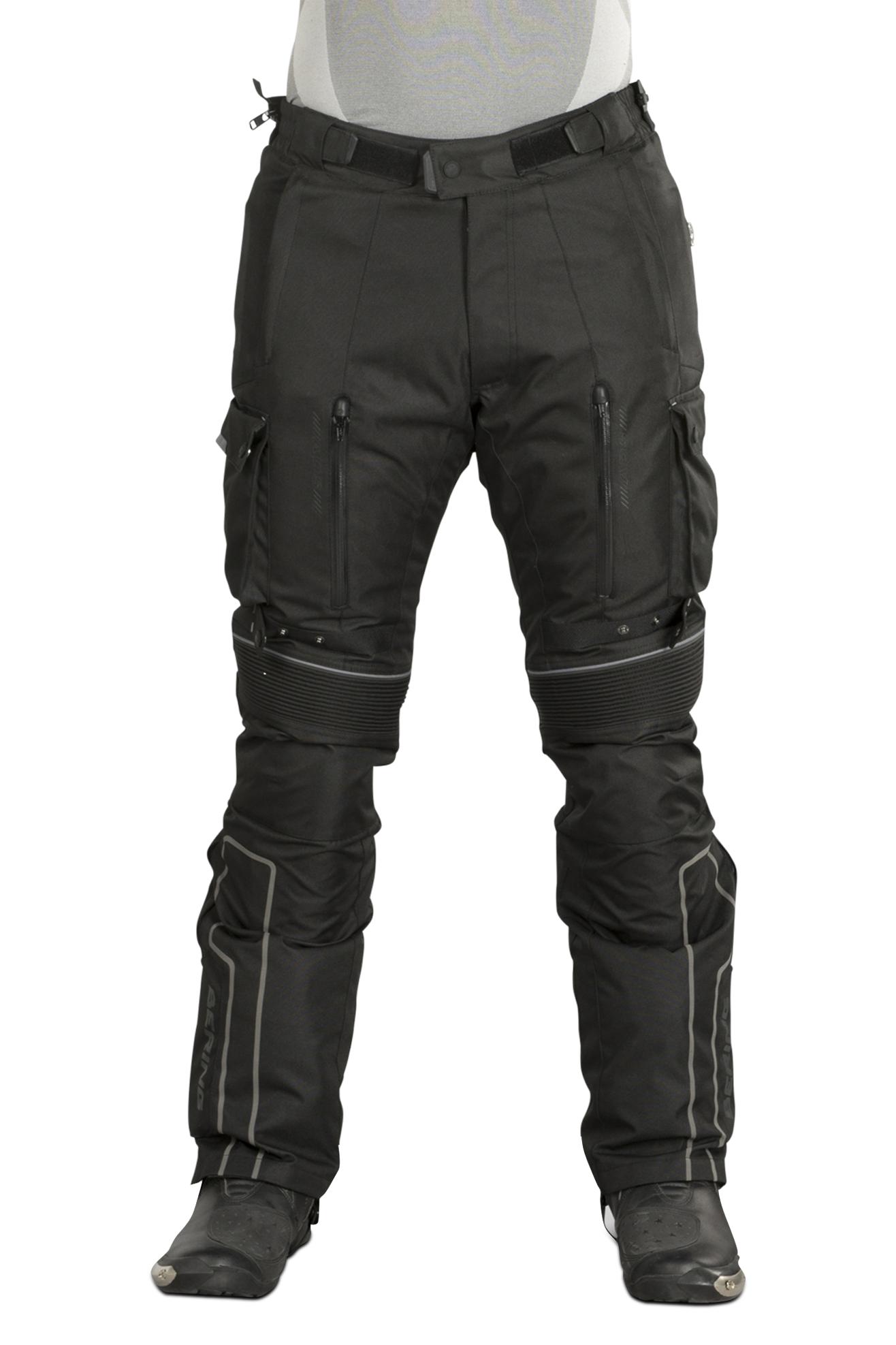 Bering Pantalones de Moto  Santiago Negros