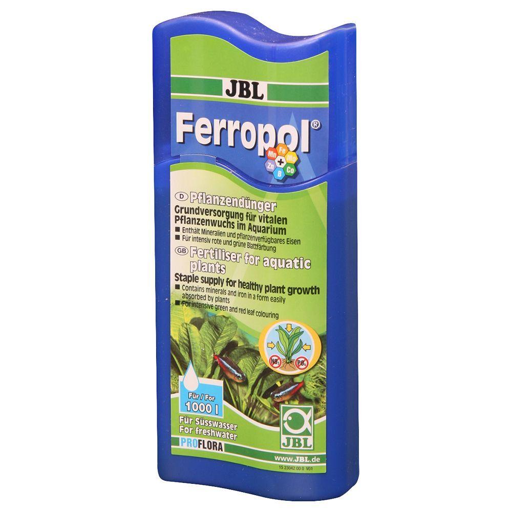 JBL Fertilizante líquido  Ferropol 250 ml para 1000 litros