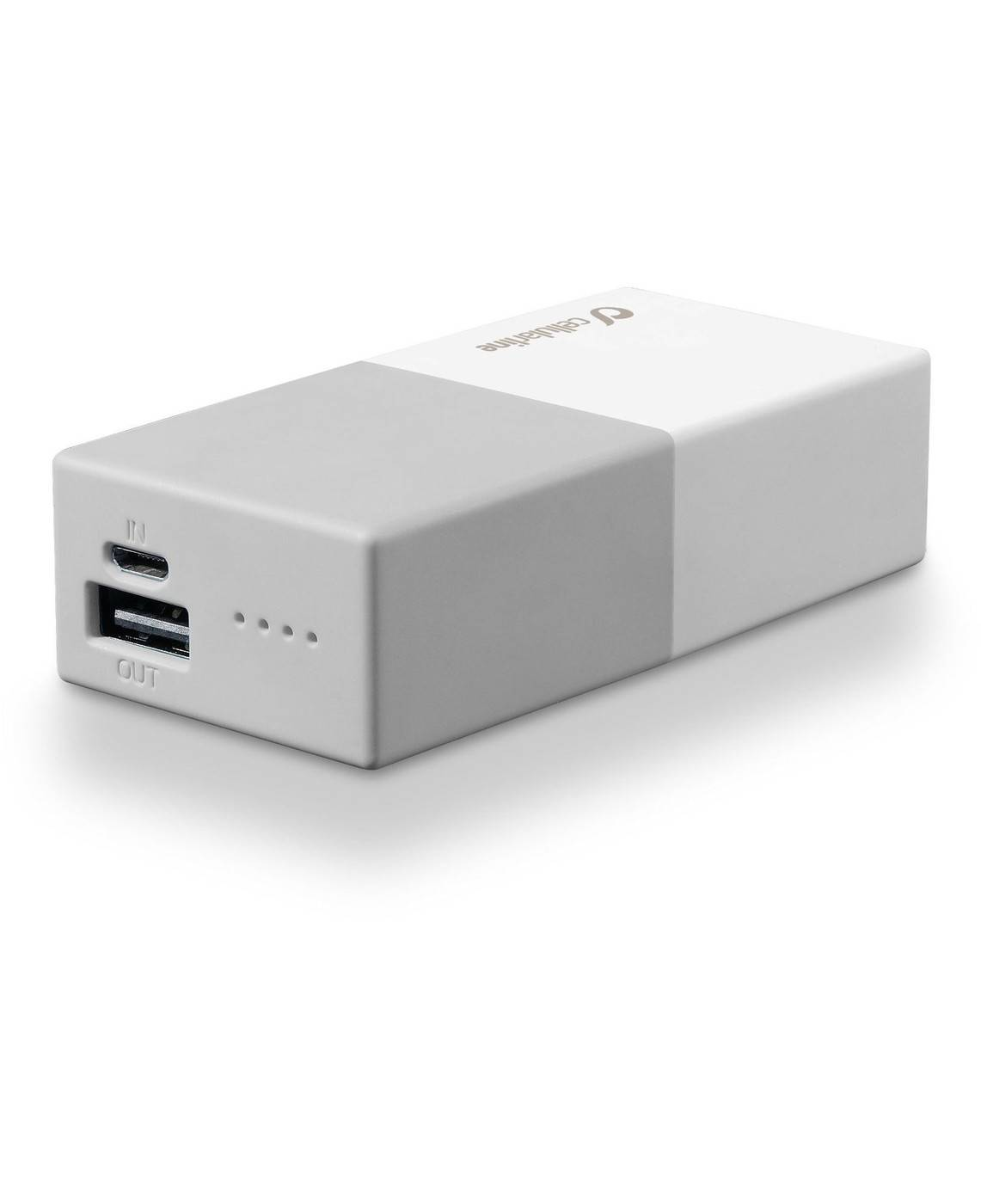 CELLULARLINE SpA Powerbank 5000 Universal Cellularline 1 Battery Charger White