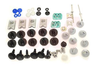 VAN WEZEL Kit de montaje, parachoques VAN WEZEL 3391794
