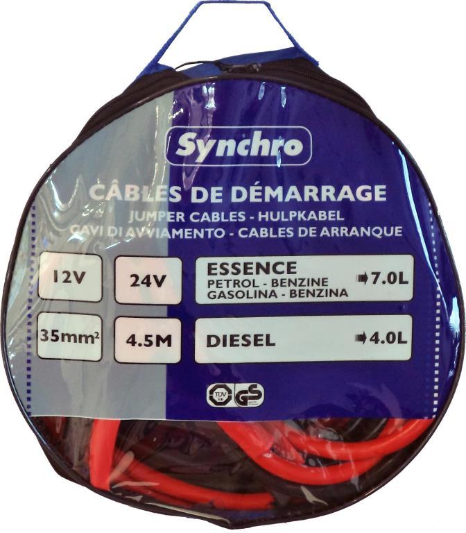 SYNCHRO Cable de arranque SYNCHRO 222673