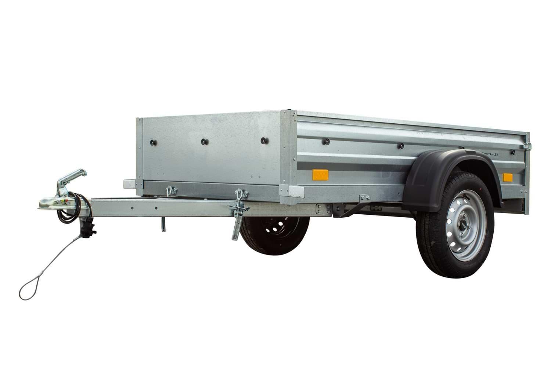 Remolque basculante de carga ligero 200 x 106 MMA 750 KG Garden Trailer 200
