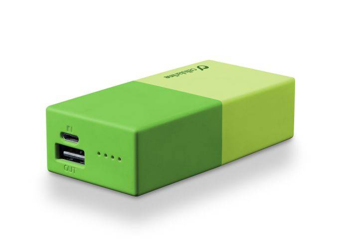 CELLULARLINE SpA Powerbank 5000 Universal Cellularline 1 Green Charger