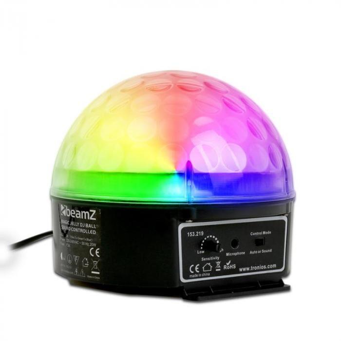 Beamz Bola de luz LED-RGB Magic Beamz DJ Jelly