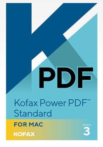 SN-DE01Z-W00-3.0 Kofax Power PDF Standard3.0 1 Usuario - MAC - Español