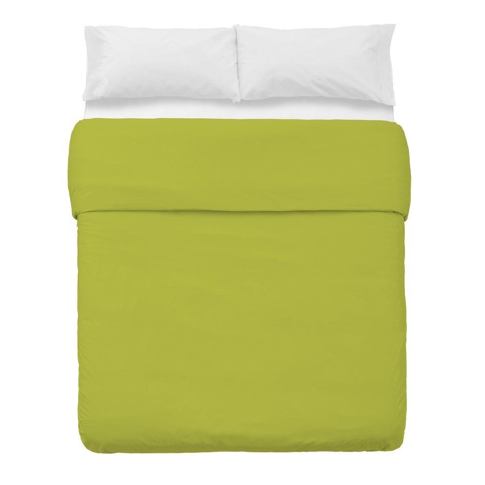LOLA home Funda nórdica verde algodón y poliéster clásica para cama de 150 cm