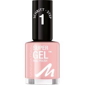 Manhattan Make-up Uñas Super Gel Nail Polish N.º 135 In Love with White 12 ml