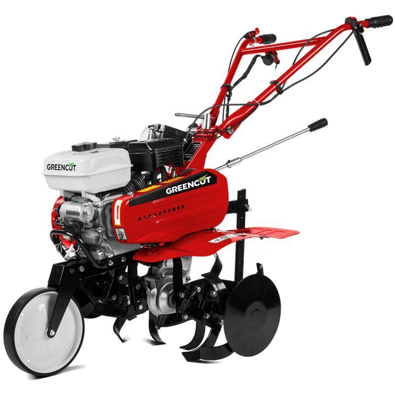 GREENCUT Motoazada GTC300XE motor gasolina 4 tiempos de 212cc 7cv. Arranque