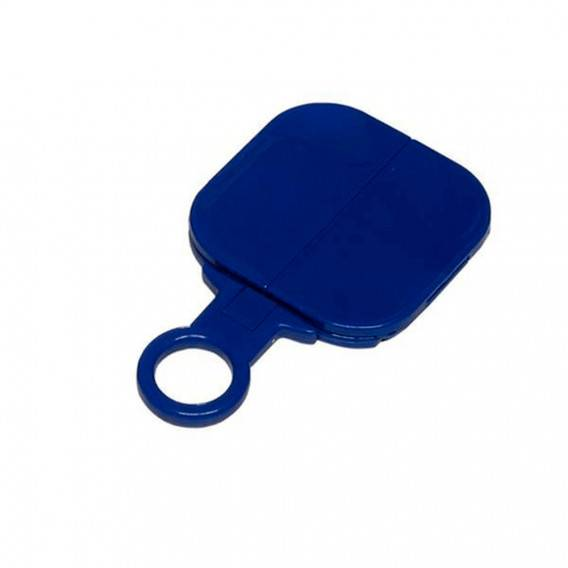 Fama Fabre Espejo Publicidad 4157 Azul-sin Marcar