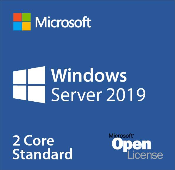 P73-07849 Microsoft Windows Server 2019 Standard - 2 Core Add-on License 4 Cores