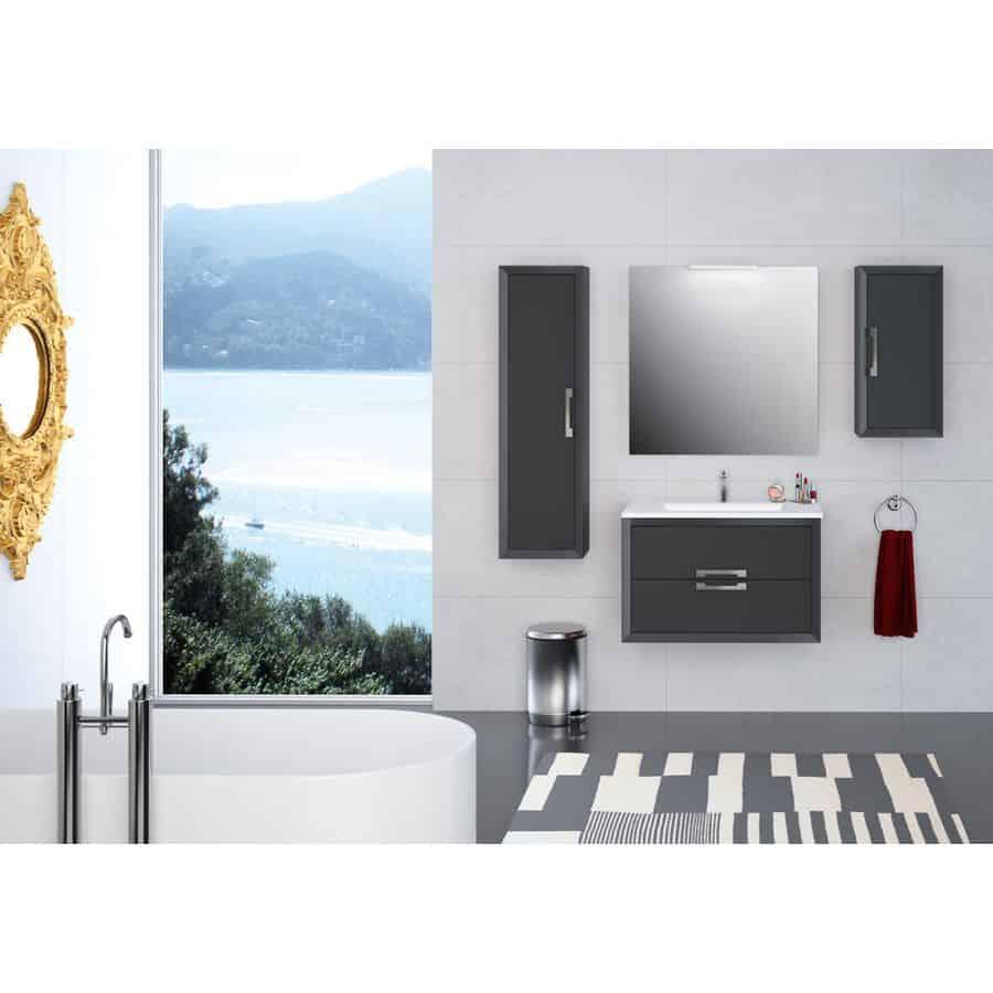 Visobath Conjunto mueble de baño con tirador -decortirador.01-Visobath