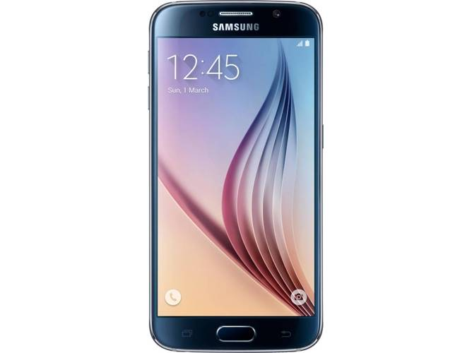 Samsung Smartphone SAMSUNG Galaxy S6 SM-G920F (5.1   - 3 GB - 32 GB - Negro)