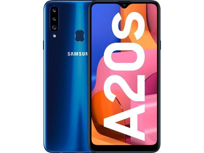 Samsung Smartphone SAMSUNG Galaxy A20s (6.5   - 3 GB - 32 GB - Azul)