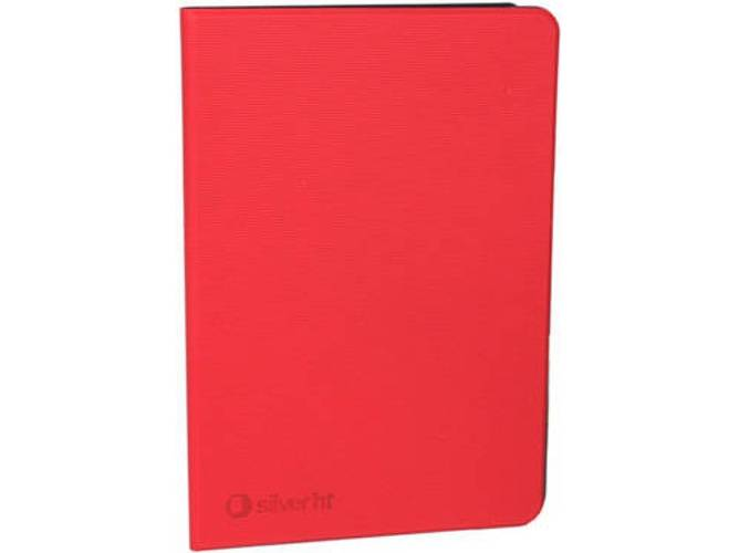 SILVERHT Funda SILVERHT Bookcase Wave (Samsung Galaxy Tab A - 10.1   - Rojo)
