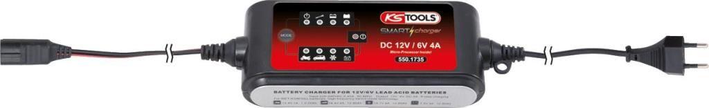 KS TOOLS Cargador de batería KS TOOLS 550.1735