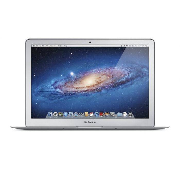 Apple MacBook Air 13   Core I5 1,7 GHz  HDD 128 GB RAM 4 GB QWERTZ
