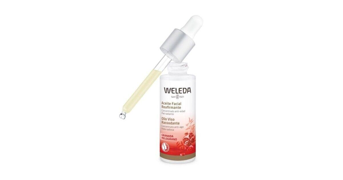 Weleda - Aceite Facial Reafirmante - Granada