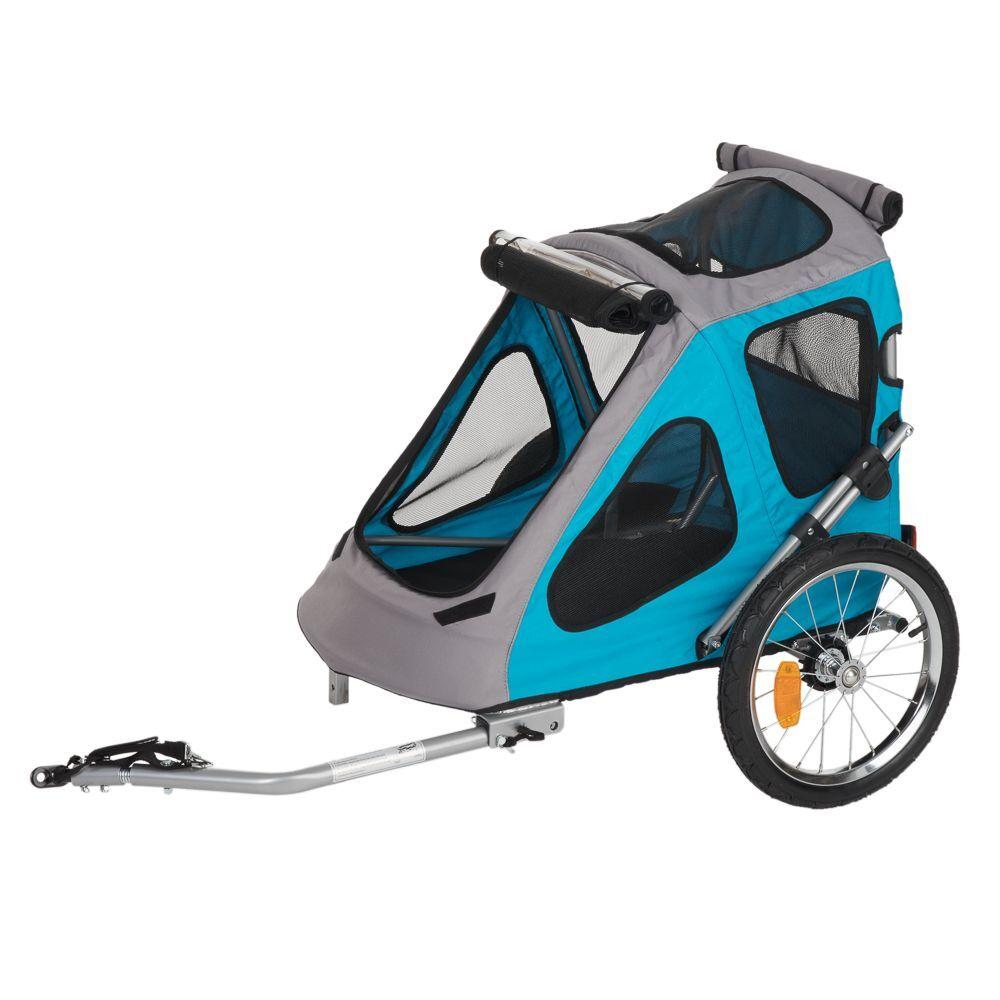 zooplus Exclusive Remolque para bicicleta Smart - 123 x 71 x 105 cm (L x An x Al) / hasta 30 kg