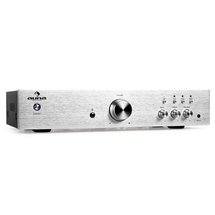 Auna AV2-CD508 Amplificador hifi estéreo 600W color plata