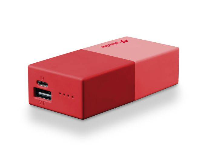CELLULARLINE SpA Powerbank 5000 Universal Cellularline 1 Charger Red