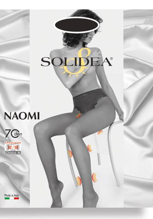 SOLIDEA BY CALZIFICIO PINELLI Naomi 70 Medias Solidea color bronce Tamano 1-S