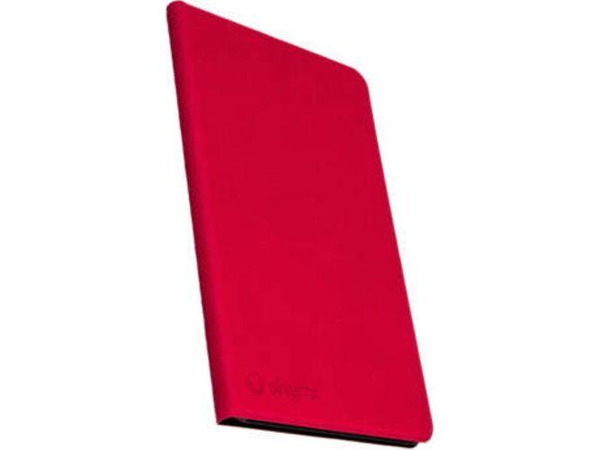 SILVERHT Funda Teclado Samsung Galaxy Tab A SILVERHT Book Case Rojo