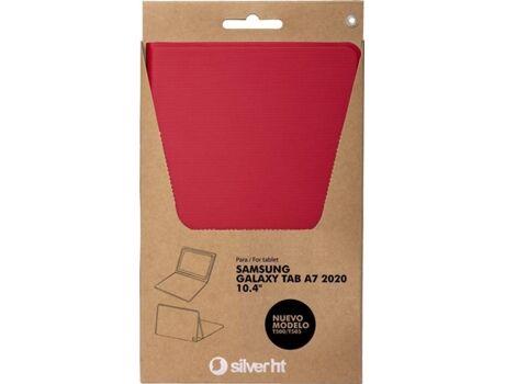 SILVERHT Funda Tablet Samsung Galaxy Tab A7 SILVERHT Rojo