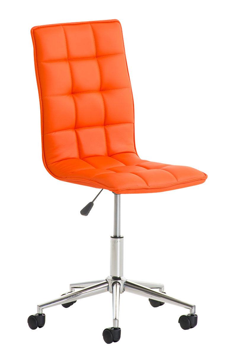 CLP Taburete de Trabajo Peking , naranja  naranja, altura del asiento