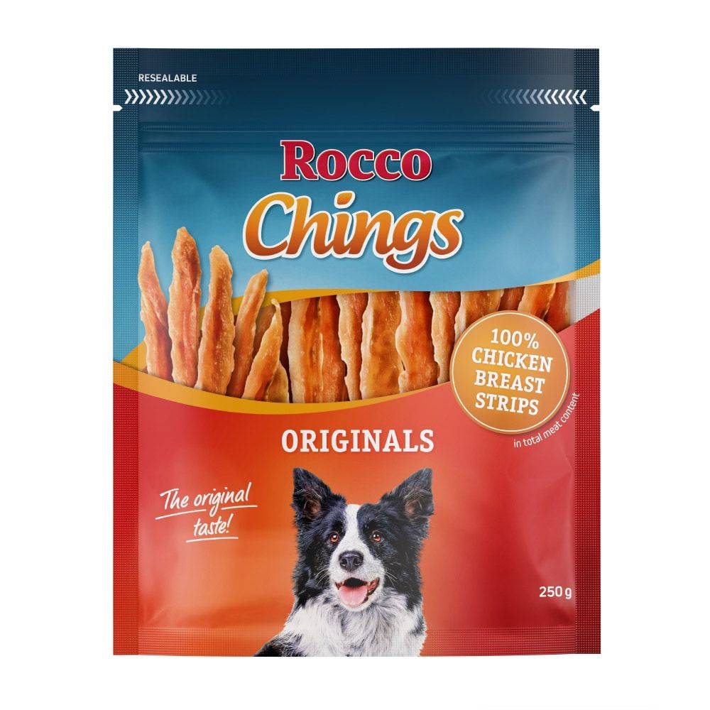 Rocco Chings Originals - Pack de prueba mixto - 4 variedades (790 g)