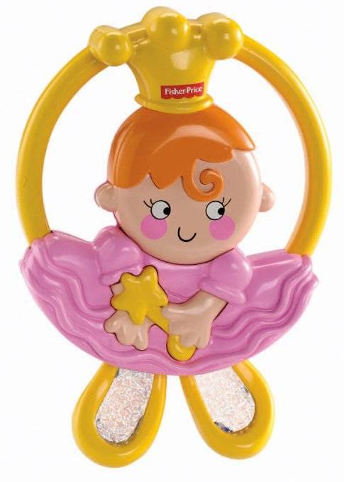 MATTEL Srl Fisher-Price Pink Rattle Rattle