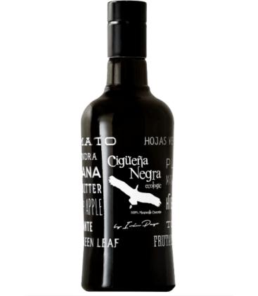Aceite de oliva virgen extra ecológica cigüeña negra