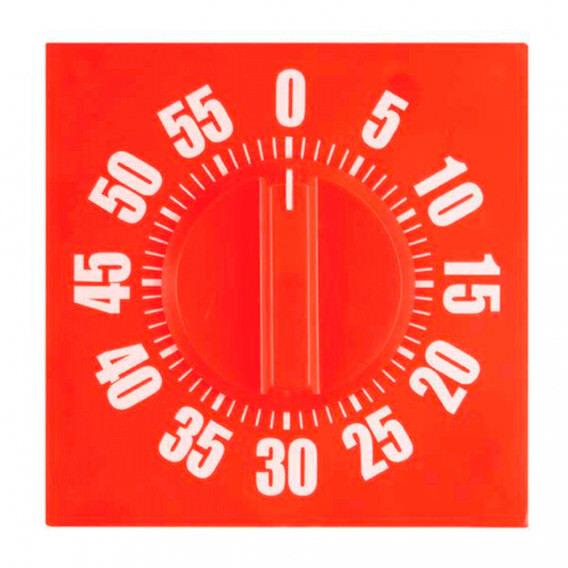 Fama Fabre Reloj Temporizador Pared Cuadrado