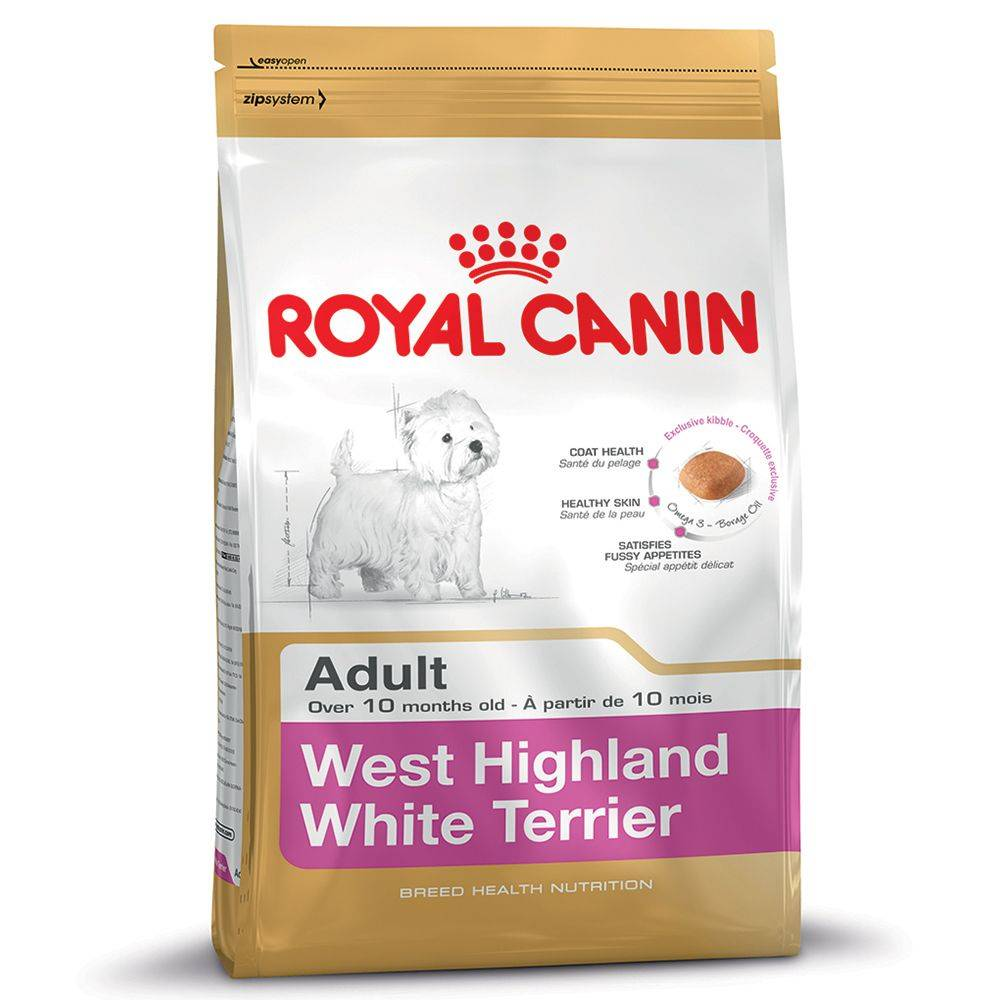 Royal Canin 3 kg West Highland Terrier Adult Royal Canin pienso para perros