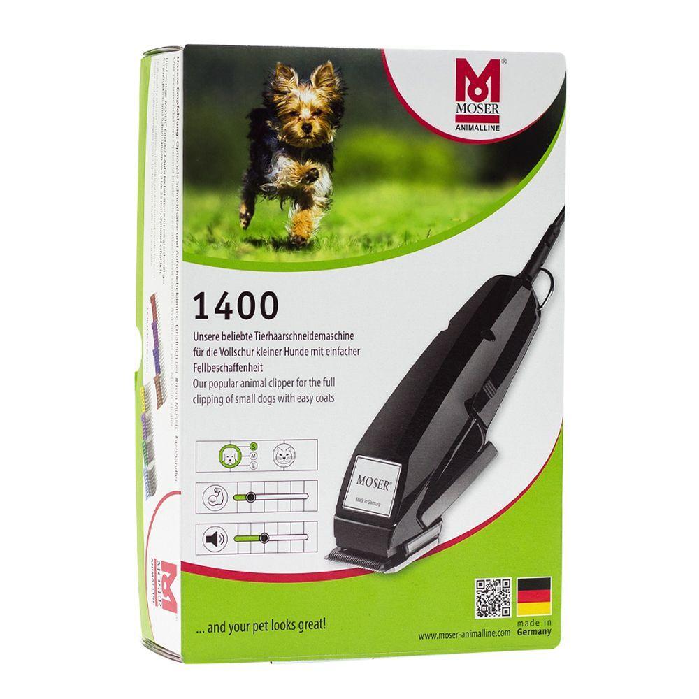 Moser 1400 - Máquina cortapelo para perros con cabezal