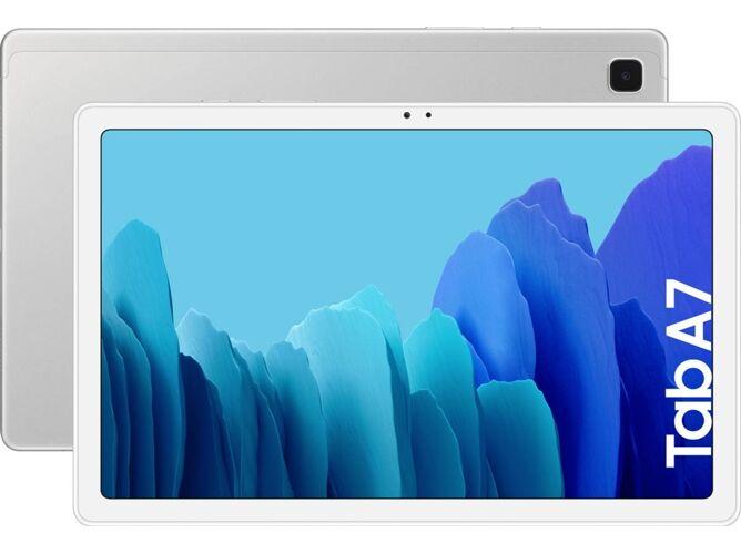 Samsung Tablet SAMSUNG Galaxy Tab A7 (10.4   - 64 GB - 3 GB RAM - Wi-Fi - Plata)