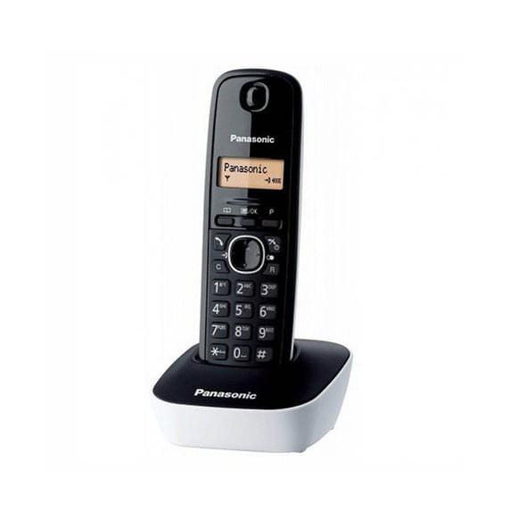 Panasonic KX-TG1611SPH Teléfono fijo inalámbrico Negro Blanco
