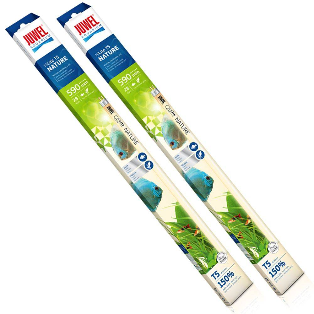 Juwel Fluorescente  Nature High-Lite T5 DUO - 2 x 45 vatios, longitud 89,5 cm