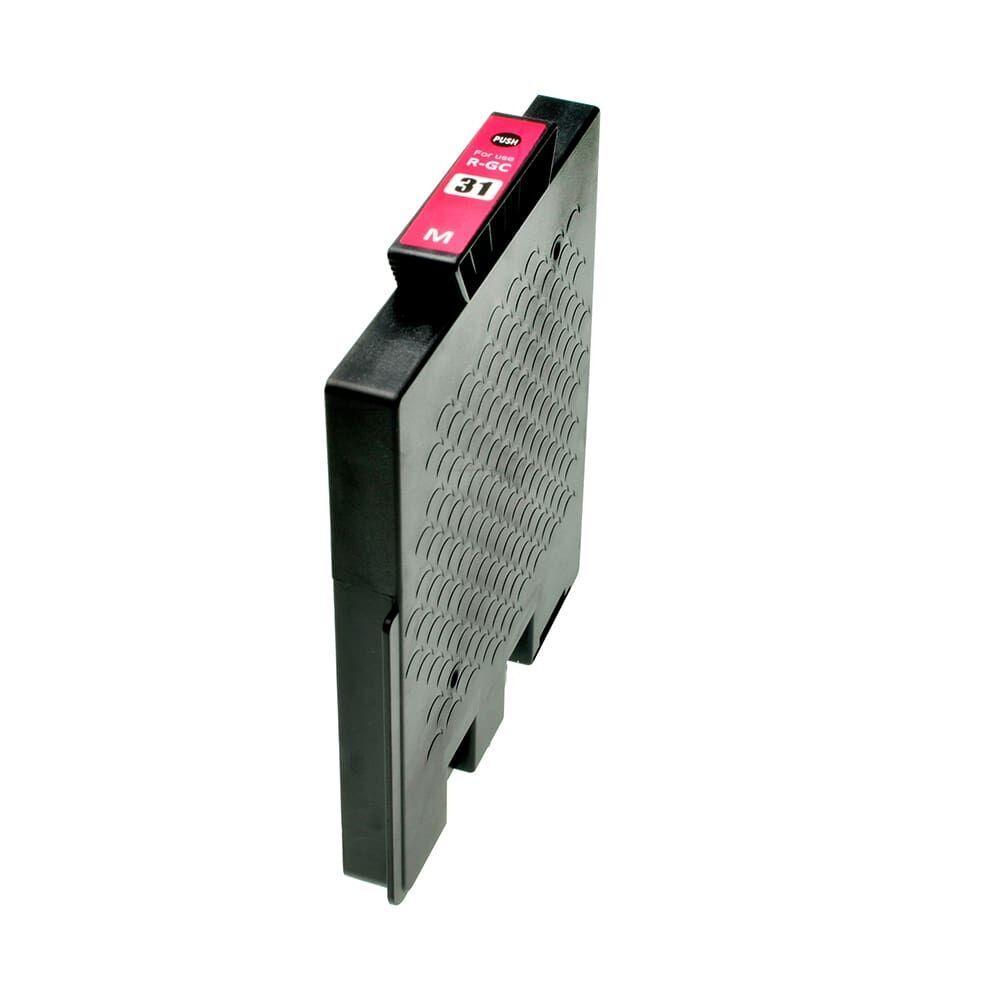 Ricoh Consumibles para impresoras para RICOH 405690 / GC-31 M magenta compatible (marca ASC)