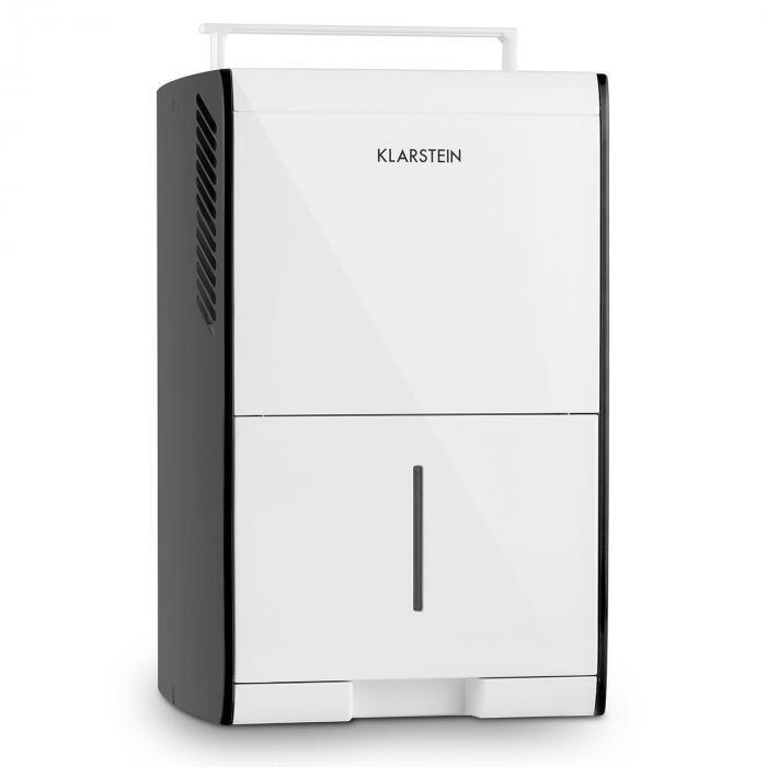 Klarstein Drybest 10 Deshumidificador del aire Compresor 10l/24h Blanco-Gris (DXJ3-Drybest-10-W)