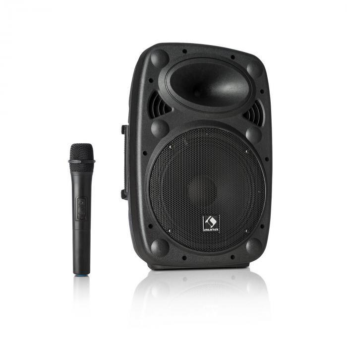 "Auna Streetstar 10 Mobile Equipo PA 10"" (25,5cm) Woofer Micro UHF 400 W máx. (Sky2-199.508)"