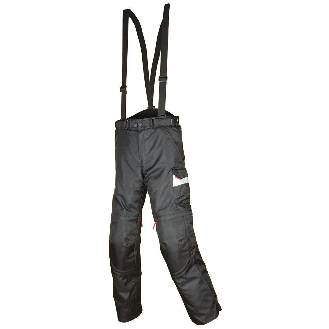 Booster Seagull motos niños pantalones textil Negro 140