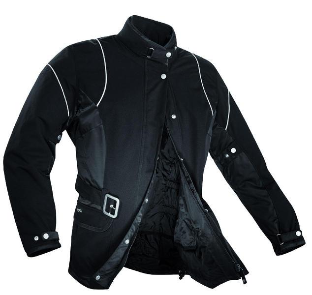 Spidi Kay Las señoras de la motocicleta Chaqueta Textíl Negro 50