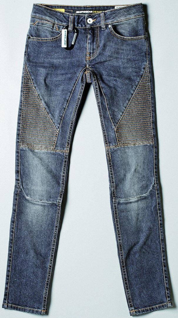 Spidi Denim Lady Racer Slim Fit Pantalones de mujer Azul 3XL