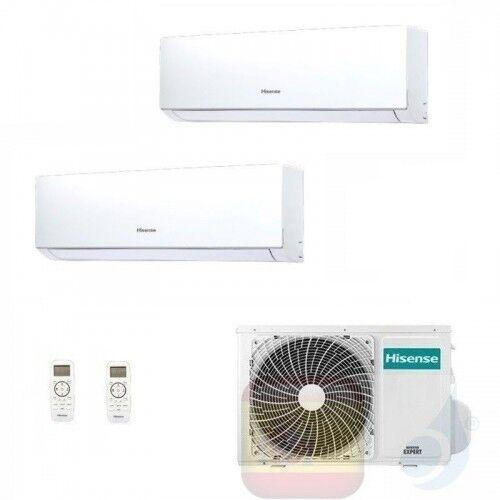 Hisense Aire Acondicionado Dual Split 7+12 Btu New Comfort Wifi Opc Dj20yd00g+ Dj35ve0ag+ 2amw42u4rra A++ A++ 7000 12000 R-32