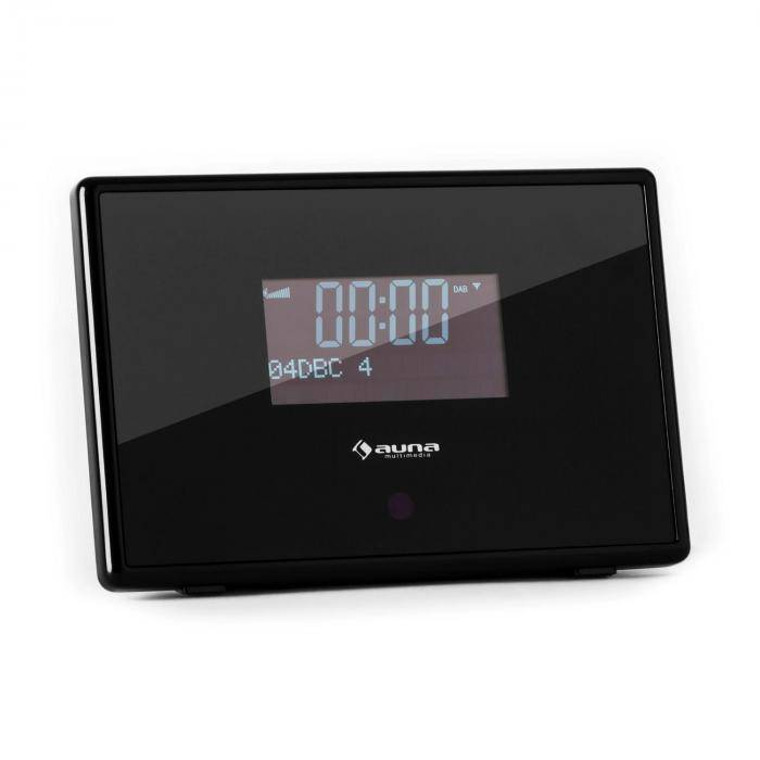 Auna Dabstar DAB/DAB+ Radio digital FM/AM RDS Despertador negro (KC1-DABSTAR)