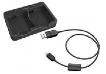 Schuberth SC1 Dual Cargador de batería Negro un tamaño