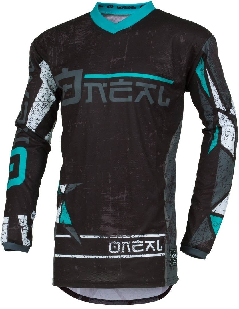 Oneal Element Zen Camiseta de Motocross Turquesa 2XL